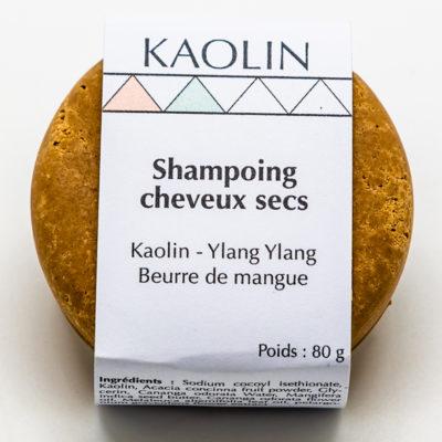 Shampoing solide cheveux secs zéro déchet naturel écologique